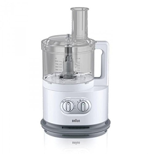 Braun FP5150WH IdentityCollection Food Processor, 220V (Non-USA Compliant), White