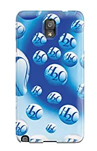Christmas Gifts 1748230K90585043 Galaxy Case - Tpu Case Protective For Galaxy Note 3- Water Drop