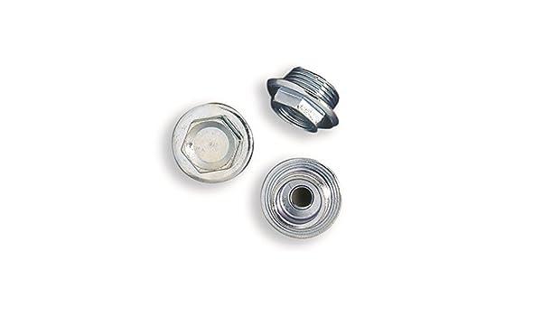 Tapones x Radiador con brida, tapones de hierro galvanizado para radiador de hierro fundido rosca 1