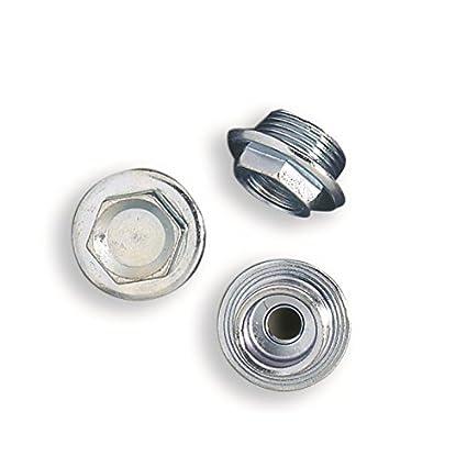 Tapones x Radiador con brida, tapones de hierro galvanizado para radiador aluminio rosca 1