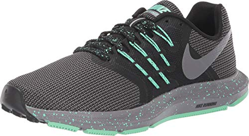 Nike Elite Black Waffle - Nike Women's Run Swift SE Running Shoe Black/Gunsmoke/Green Glow Size 9.5 M US