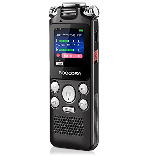 BOOCOSA Multifunctional Microphone Recording Reduction