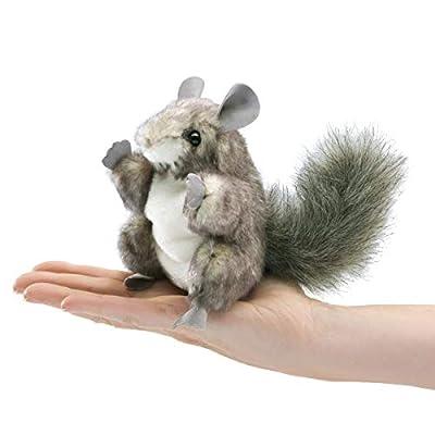 Folkmanis Mini Chinchilla Finger Puppet: Toys & Games