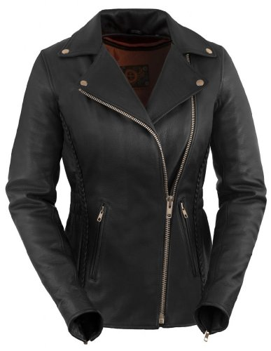 Womens Leather Riding Jackets - 1