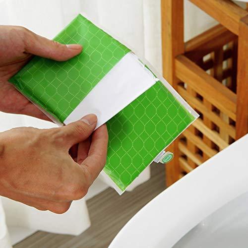 - Finedayqi  10 pcs Sheets Pocket Size Flushable & Disposable Toilet Seat Covers