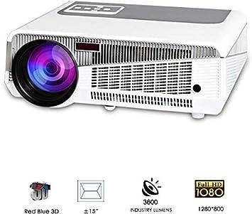 1080p HD Proyector Digital Interior al Aire Libre 3600 lúmenes ...