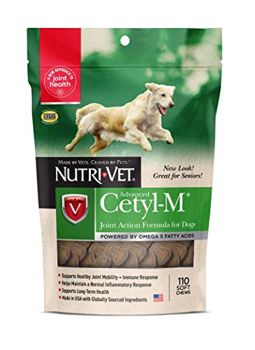 Cetyl M Joint and Immune Support for Dogs, 110 Soft Chews
