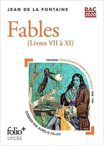 Bac 2020:Fables: (Livres