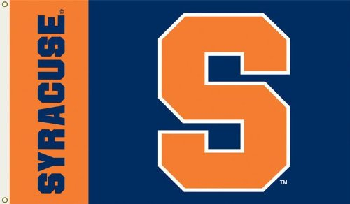 NCAA Syracuse Orange 3-by-5 Foot Flag with Grommets