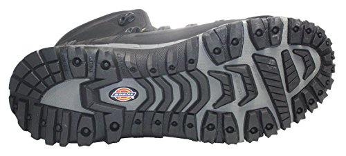 Dickies, Scarpe antinfortunistiche uomo, Marrone (marrone), 9 UK Nero