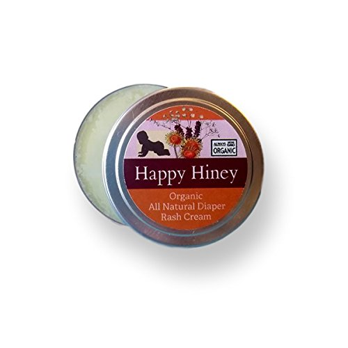 Happy HINEY. Calendula Diaper Rash Salve. 100% Natural and Organic. Hand Crafted in Small Batches. Made with Calendula, Lavender and Shea. Elegantly Gift Packaged!