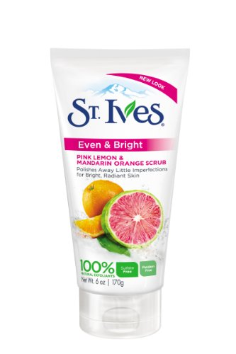 St Ives Scrub, Even & Bright Pink Lemon & Mandarin Orange 6 once