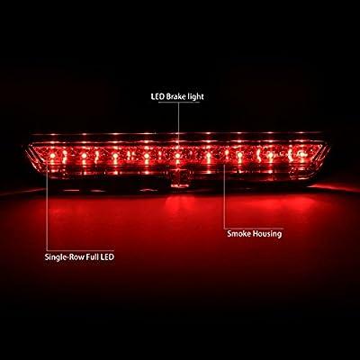 DNA MOTORING Smoke 3BL-STC11-LED-SM Full LED Third Brake Light [11-16 Scion tC]: Automotive