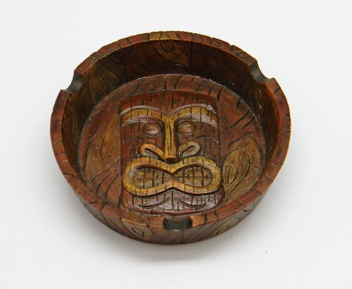 (4.25 Tiki Mask Ashtray)