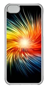 Customized Case Beautiful glow PC Transparent for Apple iPhone 4 4s