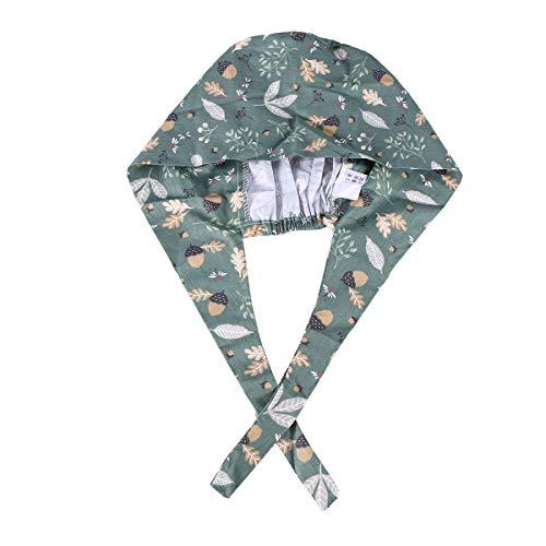 Adult Surgical Cotton Cap Dragonfly Adjustable Tie Doctor Nurse Cap Surgery Hat
