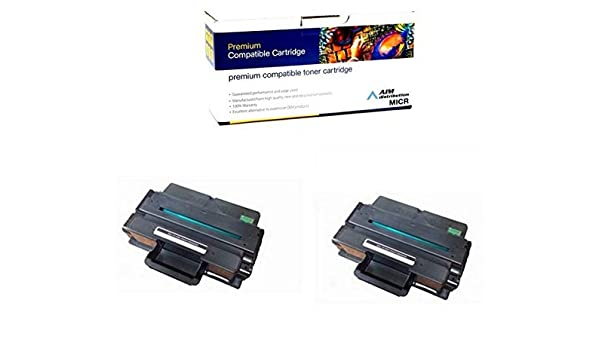 NWYPG2PK 2//PK-10000 Page Yield AIM Compatible MICR Replacement for Dell B2375 Black High Yield Toner Cartridge - Generic