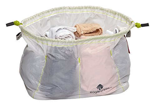 - Eagle Creek Pack-It Cinch Organizer, White/Strobe