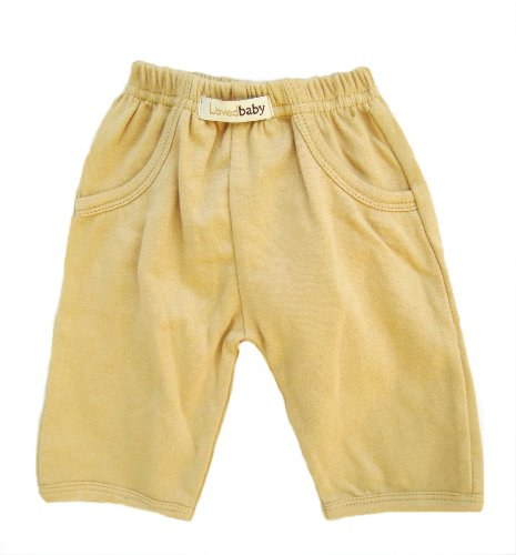 L'ovedbaby Baby Signature Pants, Caramel 9-12 Months