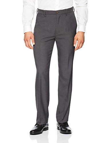 - Franklin Tailored Men's Expandable Waist Classic-Fit Dress Pants, -dark grey, 30W x 32L