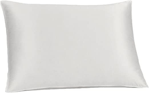FEELS LIKE DOWN PILLOW PAIR OF SOFT BAMBOO COVER PILLOWS SILK FILLED 600T