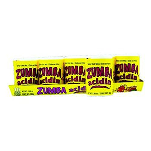 Zumba Pica Zumba Acidin Spicy Chili Mix 0.04 Oz Each ( 10 In A Pack ) by Zumba Pica