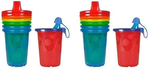 The First Years Take & Toss Spill-Proof Sippy Cups, 10 Ounce - 8 Count