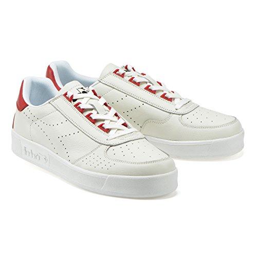Diadora Sneaker Perf L Salsa Uomo Bianco B rosso Elite C7409 qOBOPa