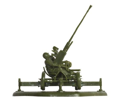 Zvezda Models 1/72 Soviet 37mm Anti-Aircraft Gun Type 61K With (Anti Aircraft Guns Wwii)
