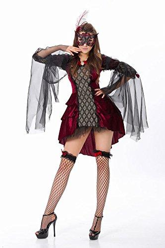 LLY Halloween Uniformes Uniformes Tentation de rôle
