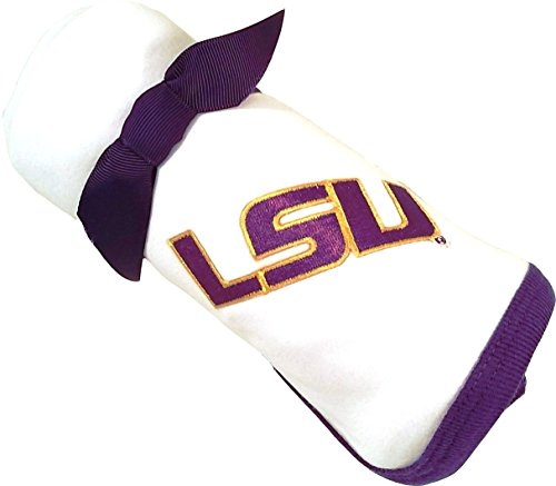 - Future Tailgater LSU Tigers Baby Receiving Blanket