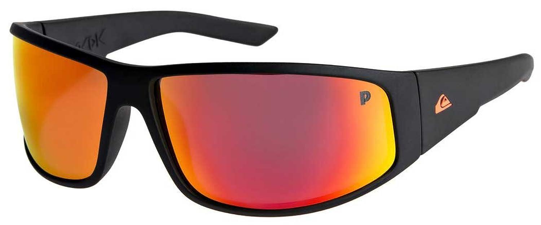 e6b5cd527bec Amazon.com  Quiksilver Mens Akdk Polarised Floatable - Sunglasses Sunglasses  Black One Size  Clothing