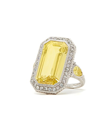 Elongated Canary Ring