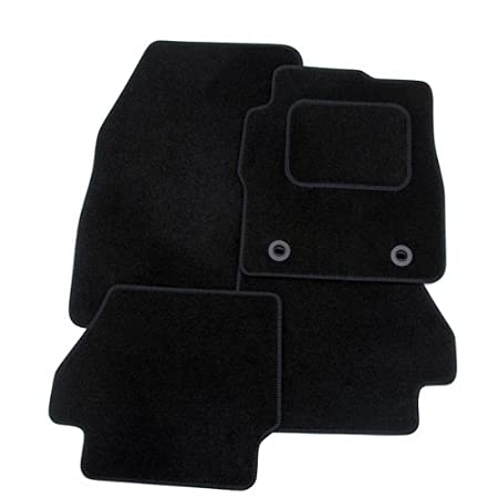 Rmsone GENUINE FULLY TAILORED BLACK CARPET CAR MATS FOCUS 2011-2015 (BLUE TRIM) RMSONE INC