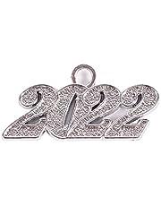 Graduation Year Charm 2022 for Graduation Tassel for New Year Christmas Congratulation Decoration,4 Styles