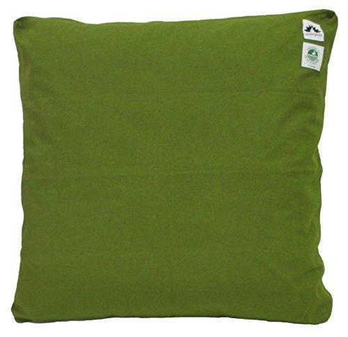 UPC 858447005122, Zabuton Cushion: Kapok-filled, 100% Organic Cotton Meditation Cushion (Green Grass, Medium 24 X 24)