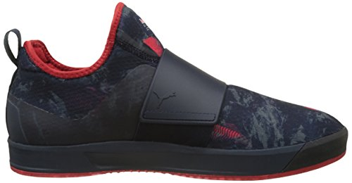 Puma Rbr Wssp Booty Team, Zapatillas para Hombre Azul (Total Eclipse-chinese Red-high Rise 01)