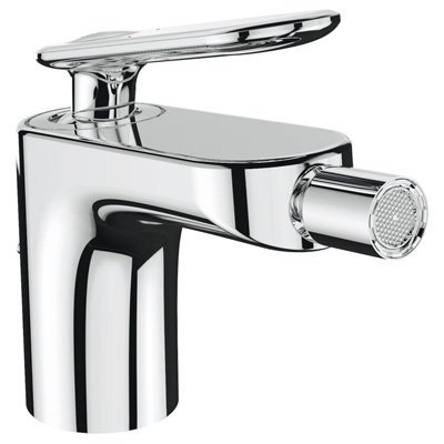 Veris Single Handle Swivel Spray Bidet Faucet Finish: Starli