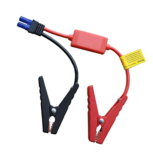 Cable Booster Automotive (TPF Booster Jumper Cables Automotive Replacement Battery Jumper Cables Alligator Clamp Booster Battery Clips for 12V Portable Car Jump Starter (Normal))