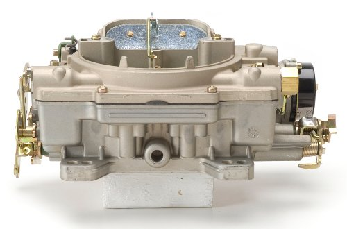 Edelbrock Air Carburetor (Edelbrock 1409 Performer Series Marine 600 CFM Square Bore 4-Barrel Air Valve Secondary Electric Choke New Carburetor)