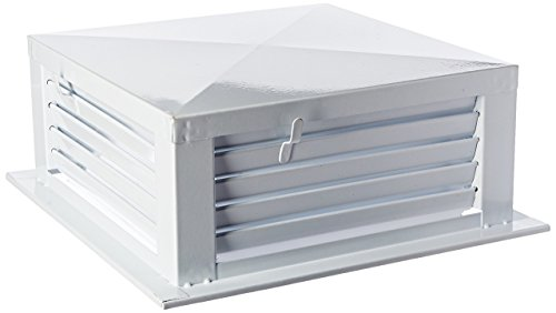 GSW DF-14P 14-Inch White Powder Coated 4-Way Adjustable Metal Diffuser for Evaporative/Swamp Cooler by GSW