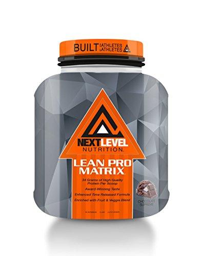 (Next Level Nutrition Lean Pro Matrix Chocolate Supreme 5lb.)