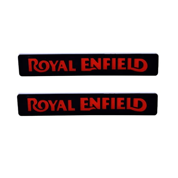 R.J.VON Royal Enfield Logo Led DRL Light (Pack Of 2 Pcs.)