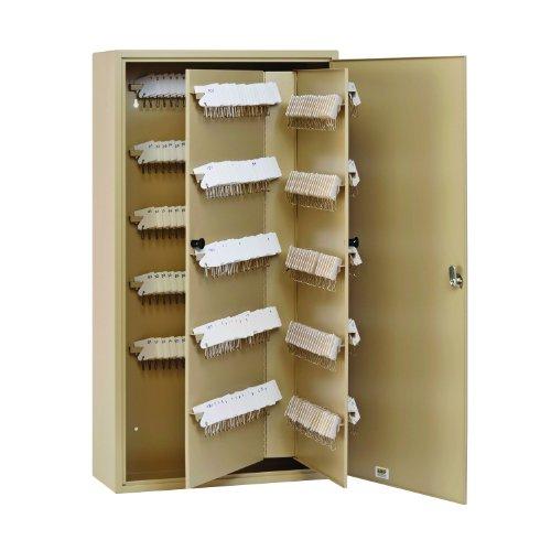 (STEELMASTER Unitag Locking 400-Key Cabinet, 16.5 x 31.13 x 7 Inches, Sand (201940003))