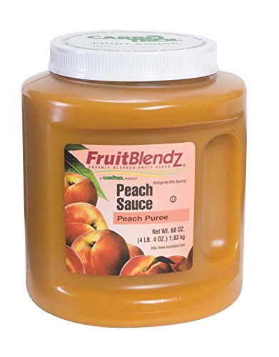Fruit Carbotrol Peach Sauce 6 Case 68 Ounce by Leahy IFP (Image #1)