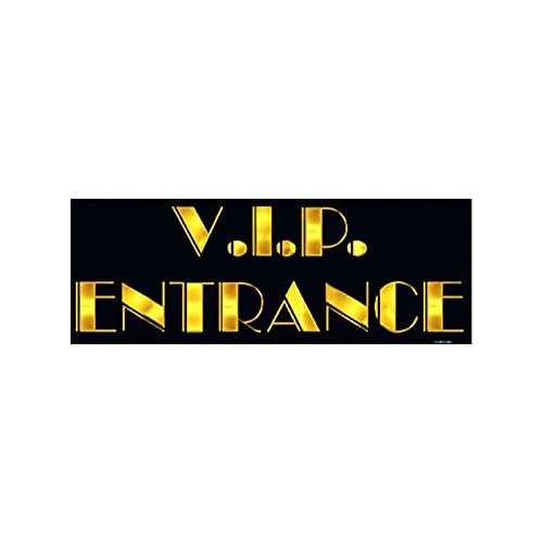 [Beistle VIP Entrance Sign 8