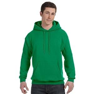Hanes ComfortBlend EcoSmart Pullover Hoodie Sweatshirt_Kelly Green_XL