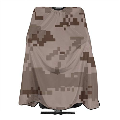 Field Rain Desert Army Camouflage Waterproof Professional Hair Cutting Cape Barber Hairdressing Cape Haircut Apron