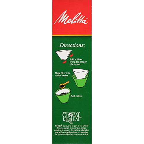 Melitta Cone Coffee Filter, White No. 4, 100 Count (Pack of 6) by Melitta (Image #5)