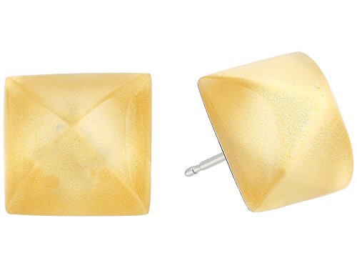 Alexis Bittar Gold Ring (Alexis Bittar Pyramid Post Gold Stud Earrings)